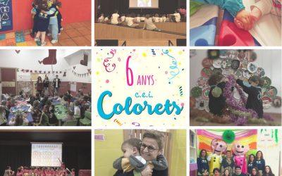 Colorets complix 6 anys!