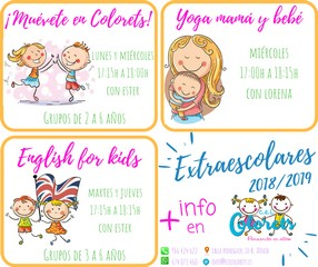Extraescolares curso 2018/2019
