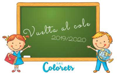 ¡¡Feliz curso 2019/2020!!